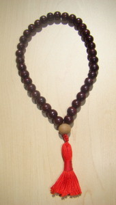 Rosewood With Sandalwood Hand Held Mala