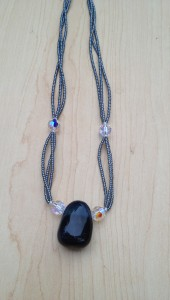 """Blue TigersEye Swarovski Crystal"""